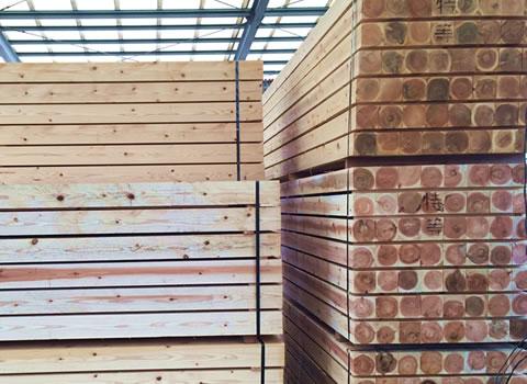 国産木材(プレカット対応)
